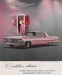 Pink 1962 Cadillac Coupe de Ville
