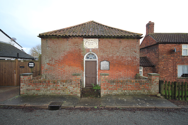 Former Primitive Methodist Chapel, Wainfleet Bank, Lincolnshire