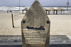 The Altalena Memorial – Frishman Beach, Tel Aviv, Israel