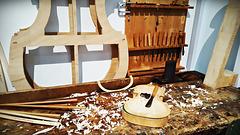 Geigenbauers Werkstatt