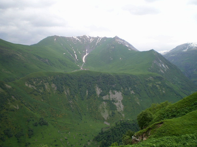 Mountains of Caucasus.
