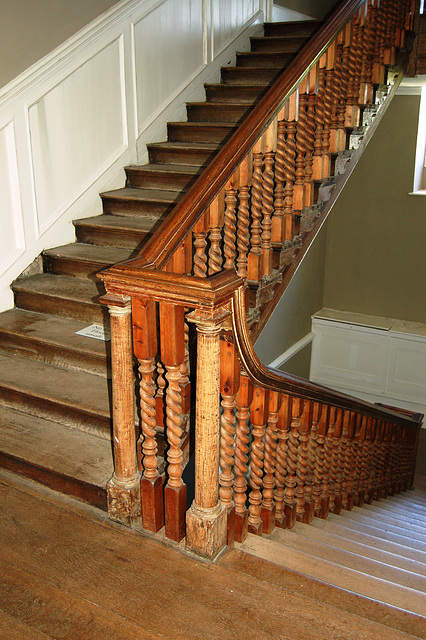 Service Stair, Croome Court, Worcestershire