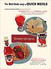 Stokely-Van Camp Juice/Ketchup Ad, 1954