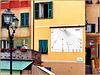Camogli : una meridiana al porto