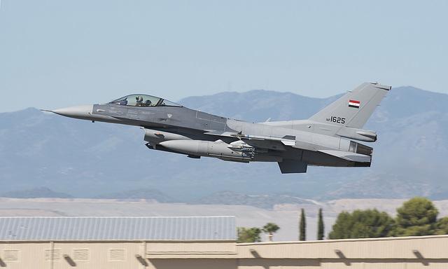 Iraqi Air Force Lockheed Martin F-16C Fighting Falcon 1625 (13-0020)