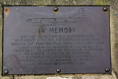 'Overexposed' was with USAF Photgraphic Reconaissance Squadron it crashed in cloud cover 3 Nov 1948