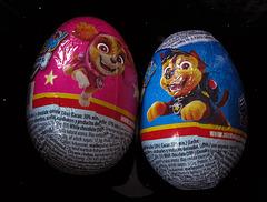 #40 chocolate easter egg/fish/bunnies/bells