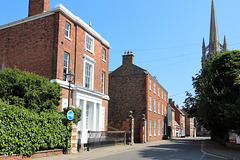 Houses in Westgate, Louth, Lincolnshire
