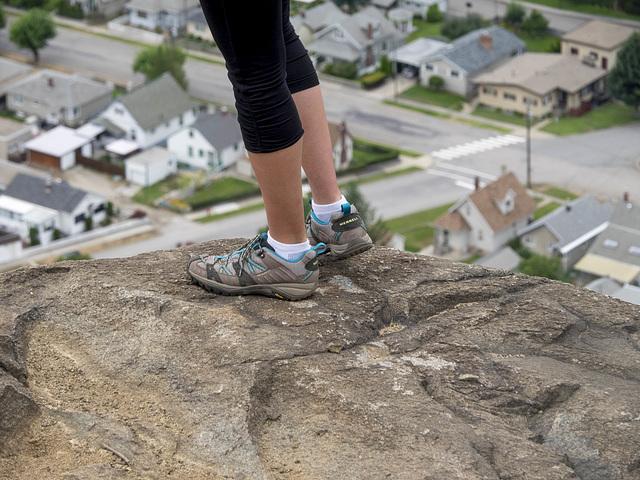 Sensible Shoes for a Precarious Ledge