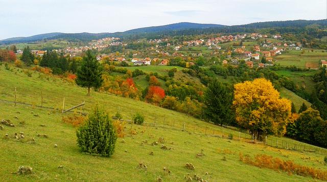 Kneževo in autumn