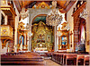 Funchal : Igreja de Nossa Senora do Monte -  interior view