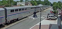 Webcam: Ashland, VA - overgang en station