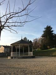 Le parc à Saint Uze