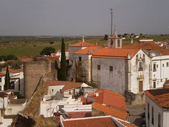 View from Serpa's Castle.