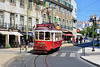 Lisbon 2018 – Tourist tram 12 on the Rua Dom Duarte