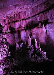 into the cave of Sataplia (Georgia)