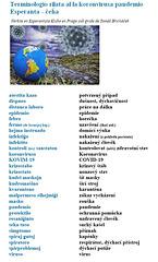 Terminologio kronvirusa Esperanta-ĉeĥa