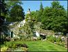 passing Rydal garden