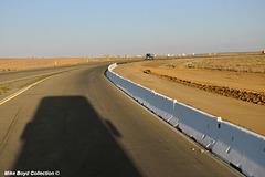 CA sr58 construction zone 4 lane project boron 09'18 01