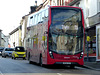 First Kernow 33468 in Redruth - 14 February 2017