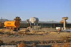 CA sr58 construction zone 4 lane project boron 09'18 03