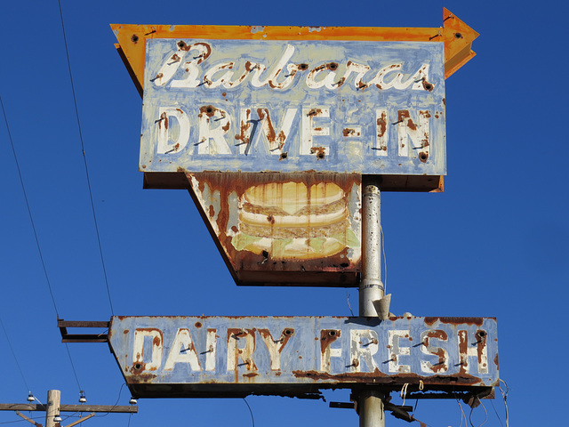 Barbaras Drive-In Rusty Burger (revisited)