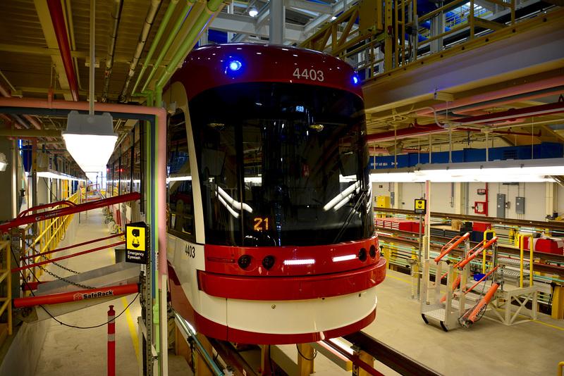 Canada 2016 – Toronto – Doors Open TTC Leslie Barns – Flexity Outlook
