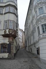 Linz, Hofgasse, The Path to Linzer Schloss