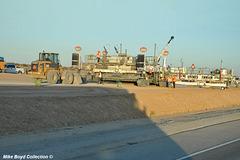 CA sr58 construction zone 4 lane project boron 09'18 04
