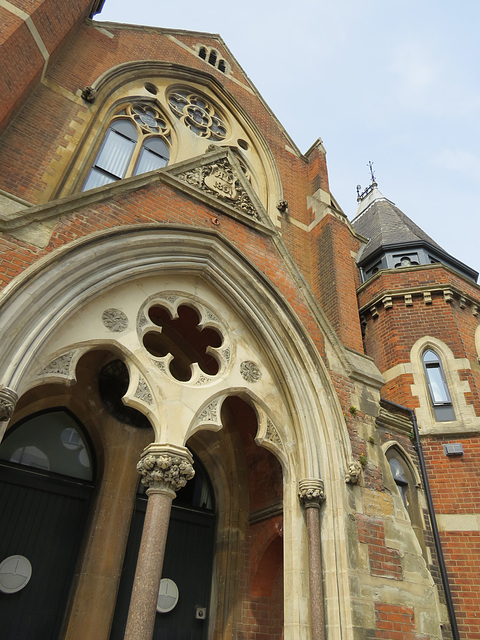 baptist chapel, forest hill road, peckham rye, london