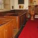 Box Pews, Saint Peter's Church, Humshaugh, Northumberland