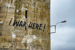 I war not here!
