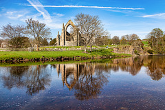 Bolton Abbey and Wharfe River