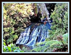 Raekohua Falls