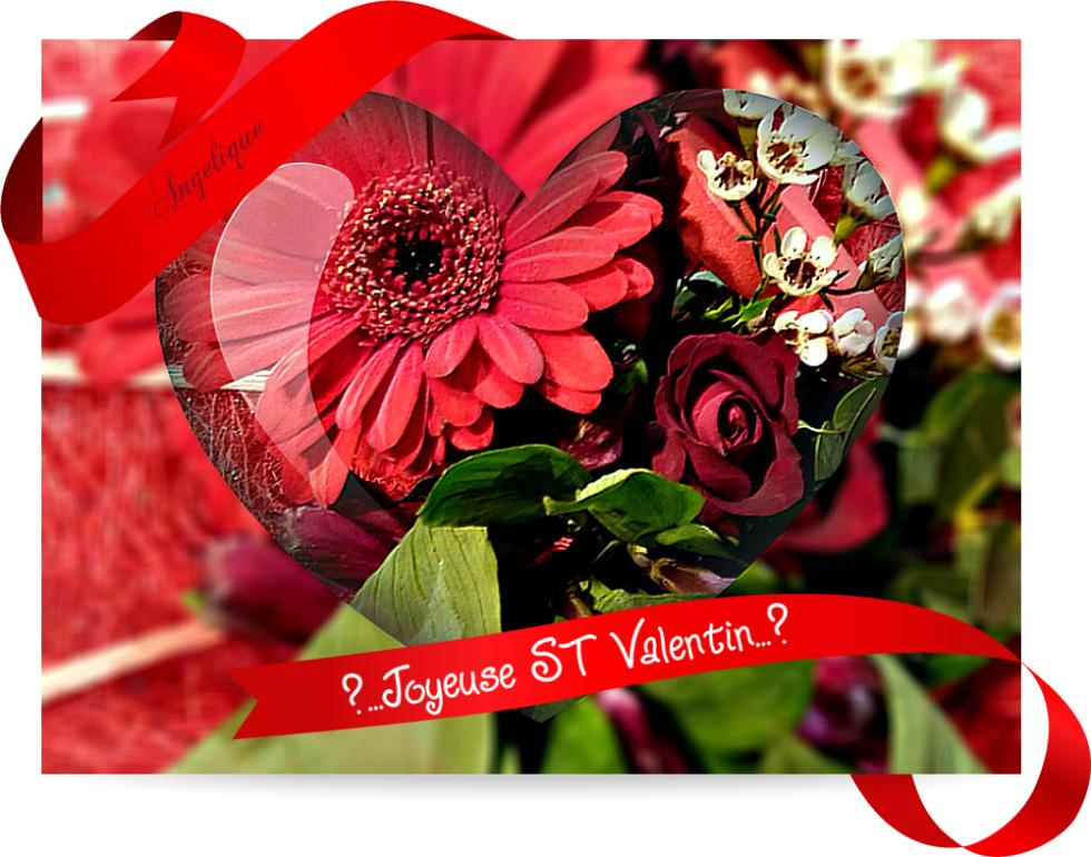 Heureuse ST Valentin à vous !