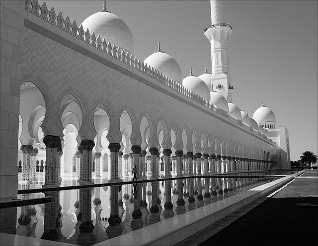 Abu-Dhabi, Sheikh Zayed Grand Mosque