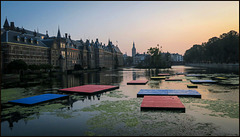 the pond of Binnenhof (pip)