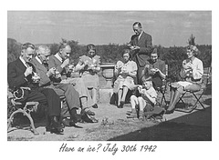 Have an ice? the Pritchards - 30.7.1942