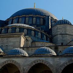 Kuppelkomposition an der Suleymanye