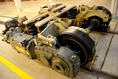 Canada 2016 – Toronto – Doors Open TTC Leslie Barns – Bombardier bogie