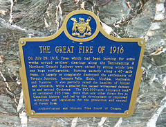 The great fire of july 29th 1916