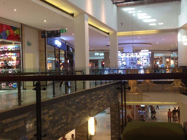 This is a lovely shopping mall