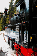 With the traditional Train up to the Brocken
