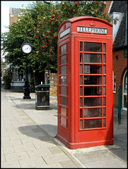 Marlborough phone box