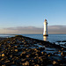 Perch Rock Lighthouse and groine