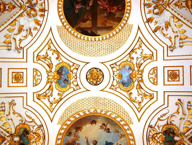 Detail of Nave Ceiling, St Michael's Church, Great Witley, Worcestershire