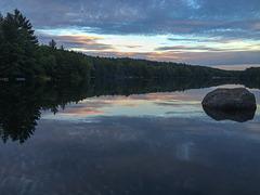 Evening Hammond Pond