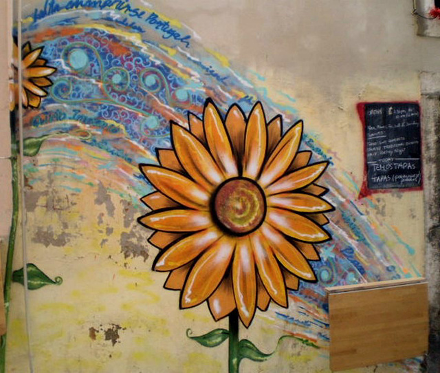 Wall painting.