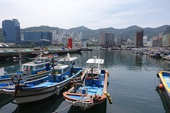 Okpo Harbour and Waterfront