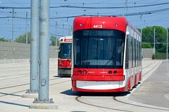 Canada 2016 – Toronto – Doors Open TTC Leslie Barns – Flexity Outlook tram
